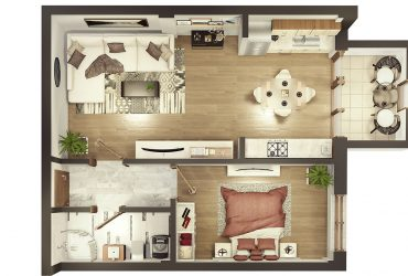 Confort – două camere cu balcon